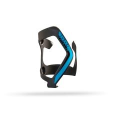 PRO košík na láhev ALU, černá/modrá, vkládání zleva