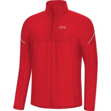 GORE M Thermo Long Sleeve Zip Shirt-red