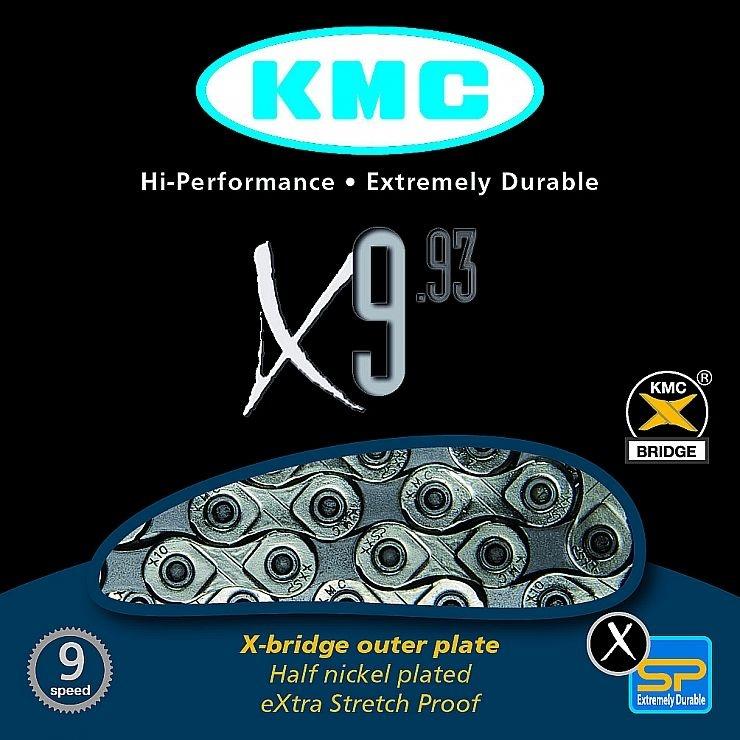 ŘETĚZ KMC X-9.93 BOX