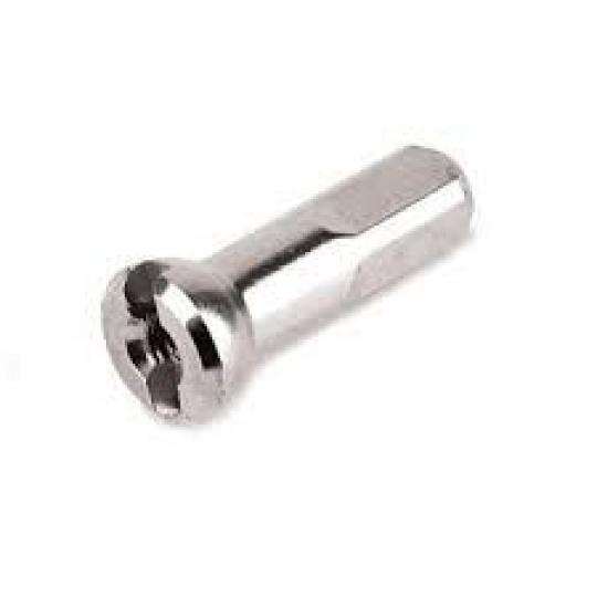 Sapim nipl mosaz 14 mm stříbrný