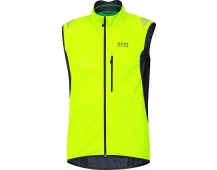 GORE Element WS SO Vest-neon yellow/black