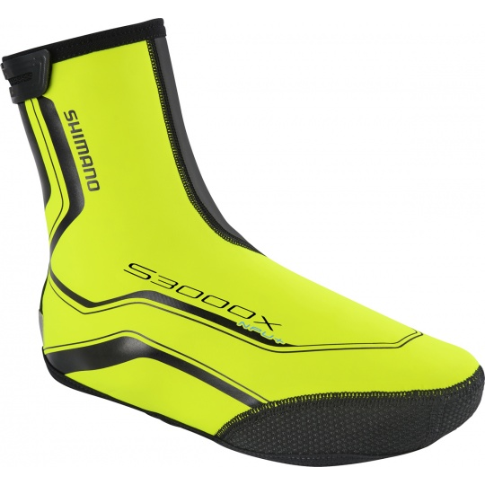 SHIMANO Trail NPU+ návleky na boty, neon žlutá, XL