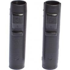 EXEL Walker Ferrule Glued - (adapter) BLACK 10mm