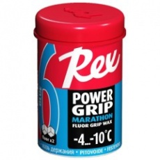 REX 61 PowerGrip Marathon Modrý fluorový vosk, -4°C až -10°C, 45g