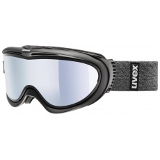 lyžařské brýle UVEX COMANCHE TAKE OFF, black mat/mirror silver/lasergold lite (9326)