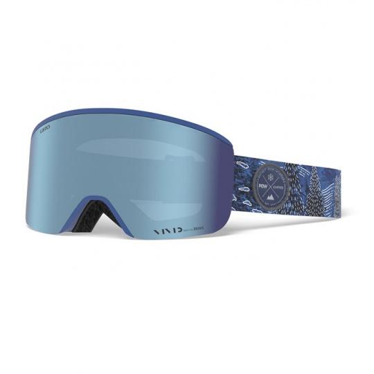 GIRO Axis POW Vivid Royal/Vivid Infrared (2skla)