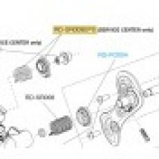 Podložka + pružina osového šroubu přehazovačky SR, RE, EPS