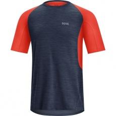 GORE R5 Shirt-orbit blue/fireball-S