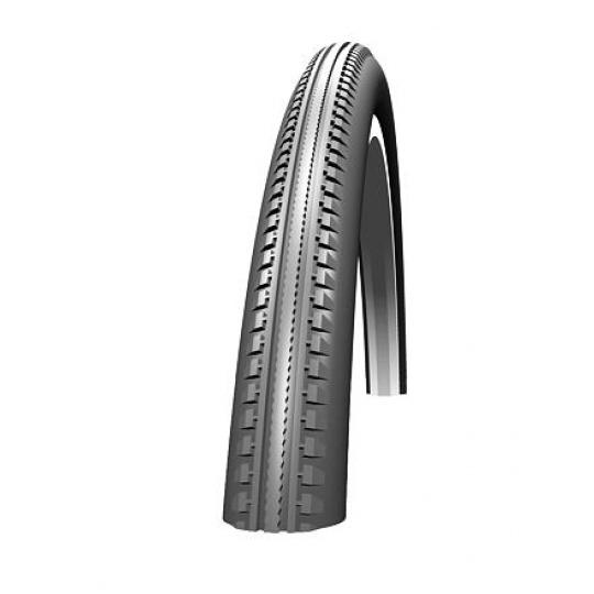Schwalbe plášť HS 110 20x1 3/8  37-438černá + reflexní pruh