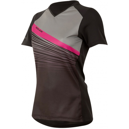 PEARL iZUMi W LAUNCH dres, černá / SMOKED PEARL FRACTURE