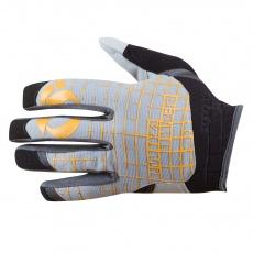 PEARL iZUMi IMPACT rukavice, černá/blazing oranžová, M