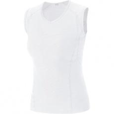 GORE M Women Base Layer Sleeveless Shirt-white