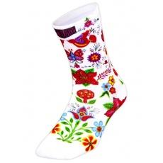 Ponožky Cycology - White Frida vel.UNI