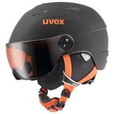 helma UVEX JUNIOR VISOR PRO, black-orange mat (S566191280*)