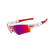 OAKLEY Radar Path Polished White/Oo Red Iridium Polarized G40 Contrast