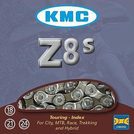 ŘETĚZ KMC Z-8 STŘ/ŠEDÝ BOX