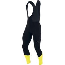 PEARL iZUMi ELITE THERMAL kalhoty s laclem, černá/SCREAMING žlutá