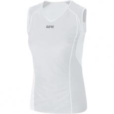GORE M Women WS Base Layer S/L Shirt-light grey/white