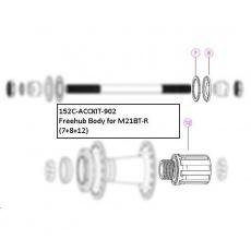 FreeHub Body Service Kit for M21BT-R