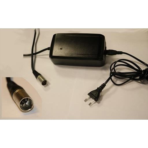 Charger 4A 5Pin for EnergyPak w/EC charge plug QQE144-14CH02-L AC220 Output DC36V/4A(67200008V)