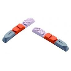 XON brzdové gumy náhradní XBS-202 trojbarevné