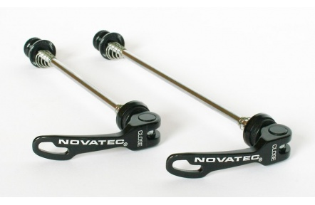 Sada Rychloupínacích osek Novatec QR249 F+R černé