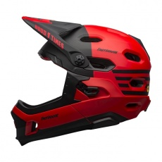 BELL Super DH MIPS Mat/Glos Red/Black Fasthouse