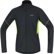 GORE R3 Partial WS Jacket-black/neon yellow