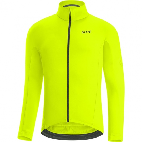GORE C3 Thermo Jersey-neon yellow