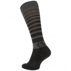 EVOC ponožky - SOCKS LONG CARBON GREY