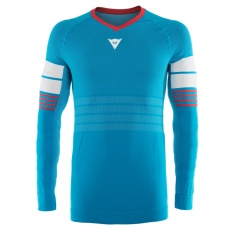 Dainese dres HG JERSEY 1 HAWAIIAN-OCEAN/HIGH-RISK-RED/WHITE