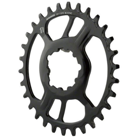 11.6218.027.020 - SRAM CR X-SYNC STEEL 11S 30T DM 3 OFF B BLK