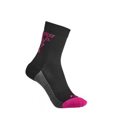 LIV Off-Road Sock-black/virtual pink