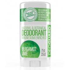 SPORTIQUE DEOGUARD přírodní tuhý deodorant - bergamot a limetka 65g