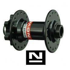 Náboj Novatec D041SB-15, přední, 36-Děr, černý (N-logo)