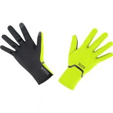 GORE M GTX Infinium Stretch Gloves-neon yellow/black