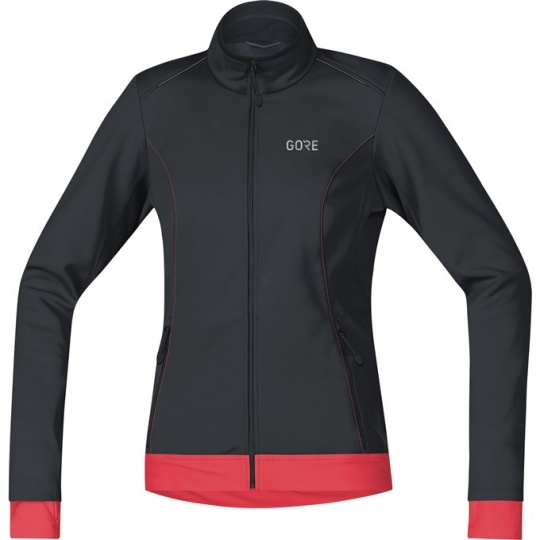 GORE C3 Women WS Thermo Jacket-black/hibiscus pink