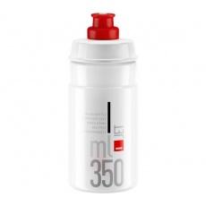 ELITE láhev JET 21'  čirá/červené logo, 350 ml