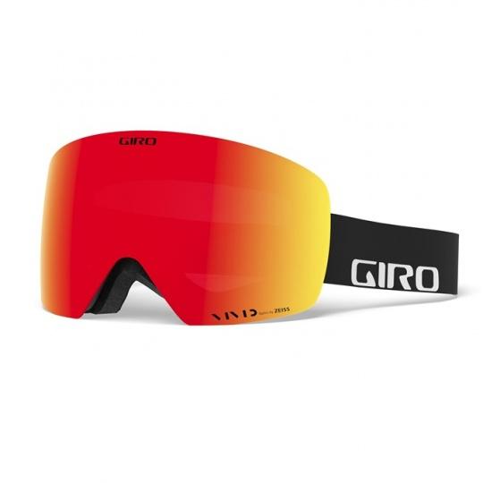 GIRO Contour Black Wordmark Vivid Ember/Vivid Infrared (2skla)