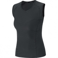 GORE M Women Base Layer Sleeveless Shirt-black