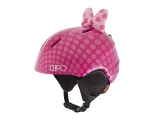 GIRO Launch Plus Pink Bow Polka Dots S
