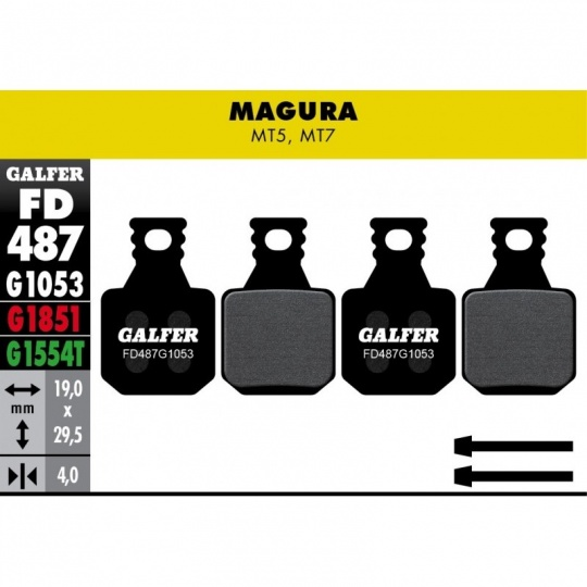 GALFER destičky MAGURA FD487 e-bike