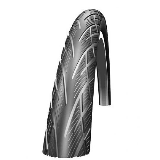 Schwalbe plášť Citizen 26x1.75 KevlarGuard černá+reflexní pruh