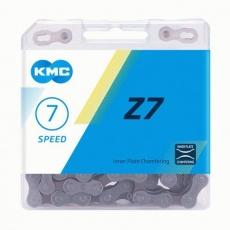 ŘETĚZ KMC Z7 ŠEDO/HNĚDÝ BOX