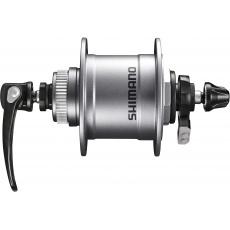SHIMANO dynamo nába ALIVIO DH-T4050-1D 1,5 W Center-Lock, 36 děr, (rychloupínák), stříbrná bal