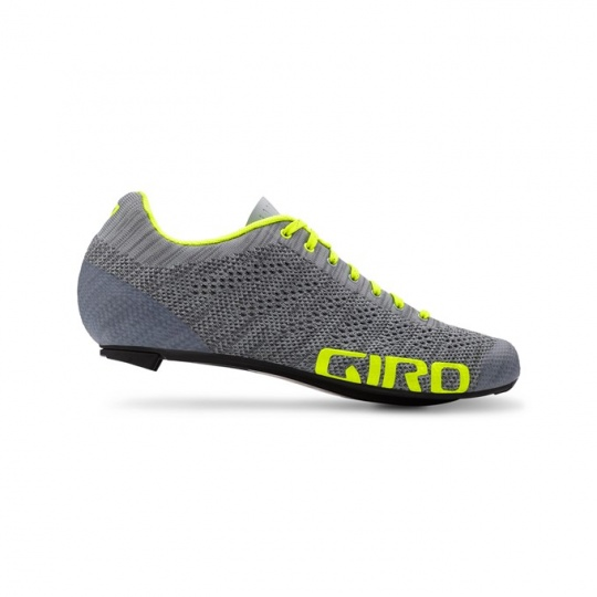 GIRO Empire E70 Knit Grey Heather/Hi Yellow