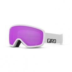 GIRO Stomp White Wordmark Amber Pink
