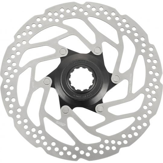 SHIMANO brzdový kotouč ALTUS SM-RT30 center lock 160 mm + lock ring pouz pro polymer des