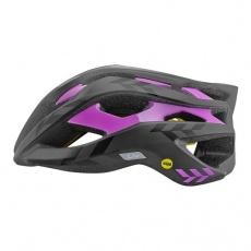 LIV přilba REV MIPS-matte black/gloss purple-CPSC/CE