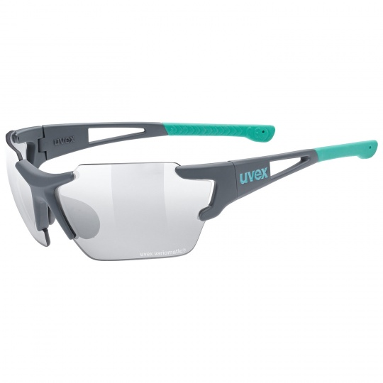 2021 UVEX BRÝLE SPORTSTYLE 803 RACE VM SMALL, GREY MAT - MINT (5505)